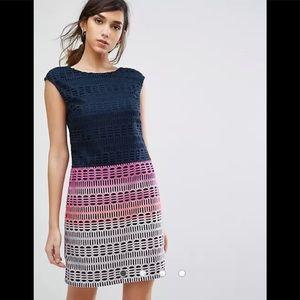 Ted Baker Dahil Marina Mosaic Lace Tunic Dress